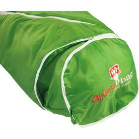 Grüezi-Bag Biopod Wool World Traveller Sovepose Børn, grøn